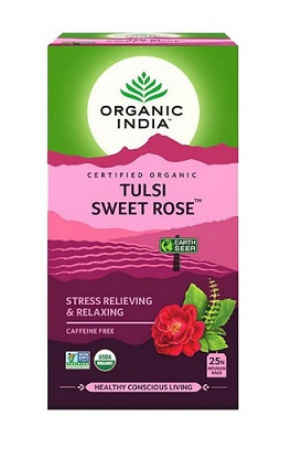 Tulsi Sweet Rose Tea bags
